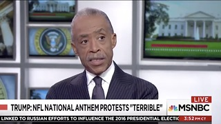Sharpton Says NFL Like Plantation; All-White League Of Owners Making Decisions - Video