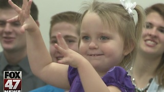 Adoption Day in Jackson County, families finalize adoptions - Video