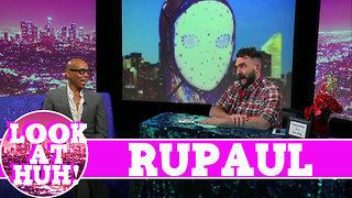 RuPaul LOOK AT HUH! On Season 1 of Hey Qween with Jonny McGovern - Video