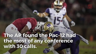 """SEC And Pac-12 Lead NCAA Football In """"Targeting Calls"""" - Video"""