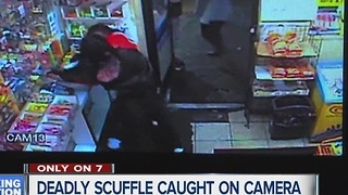 Deadly scuffle caught on camera - Video