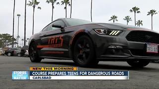 Course prepares teens for dangerous roads - Video