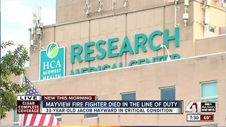 Mayview firefighter dies, another injured in the line of duty - Video