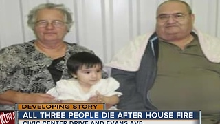 Young girl and her grandparents dead after house fire - Video