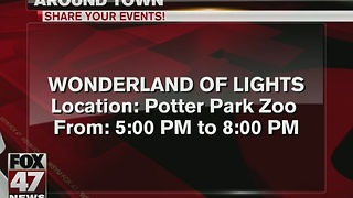 Around Town: 12/23/16: Wonderland of Lights - Video
