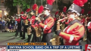 Local Band Marches In Parade For Pearl Harbor
