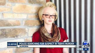 Police searching for suspect in murder of 18-year-old at Aurora motel - Video