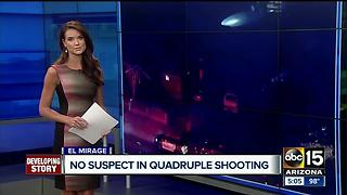 PD: 3 people injured after shot in El Mirage - Video