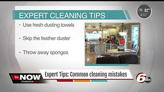 Expert tips: Common cleaning mistakes from The Cleaning People - Video