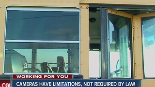 CALL 6: School bus cameras not required by law, have limitations - Video