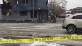 RAW VIDEO: Day After Waukesha Bowling Alley Fire - Video