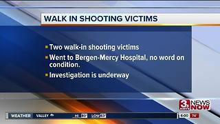 Two walk-in shooting victims at Bergen-Mercy - Video