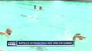 Buffalo's outdoor pools are open for season - Video