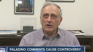 Paladino comments - Video