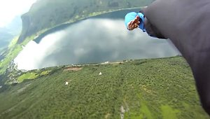 Daredevils compile epic BASE jumping montage - Video
