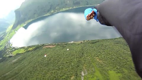 Daredevils compile epic BASE jumping montage
