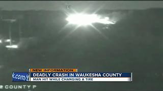 Deadly crash in Waukesha County - Video
