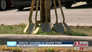 Holy Name Senior Living breaks ground in North Omaha - Video