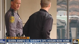 Queen Anne's County Sheriff's DFC Hogan released from hospital