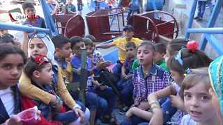 Children in Aleppo Town Celebrate Eid al-Fitr as Ceasefire Holds - Video