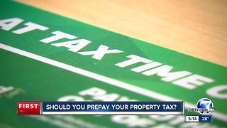 Should you prepay your property tax?