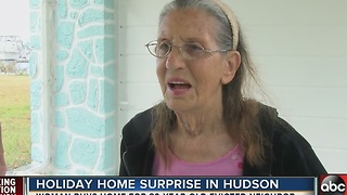 Neighbors help 89-year-old woman after eviction