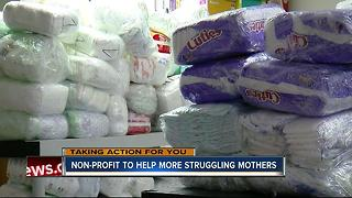 Local diaper bank plans to serve moms in Tampa Bay hospitals - Video