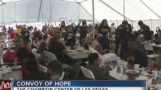 Convoy of Hope serves Thanksgiving dinner to 10,000 people - Video