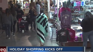 Holiday shopping kicks off around Las Vegas valley - Video