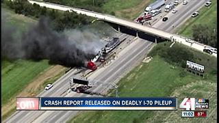 Officials identify victims in I-70 crash that killed 5 people - Video
