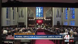 Funeral service held Thursday for KC businessman James B. Nutter