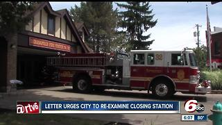 Letter urges city to re-examine closing fire station - Video