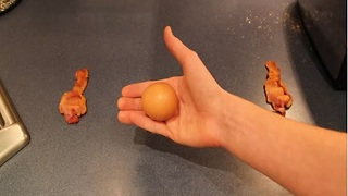 Stop motion: Breakfast making itself! - Video