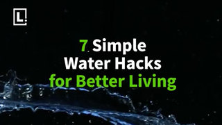 Water works! Simple life hacks with water for better living - Video