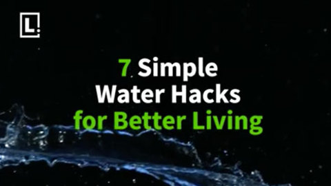 Water works! Simple life hacks with water for better living