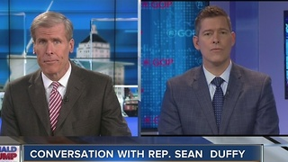 Charles Bensons speaks with Sean Duffy about Trump's Carrier deal - Video