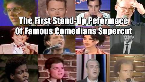 The First Stand-Up Performances of Famous Comedians Supercut