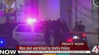 1 dead after officer-involved shooting in Olathe