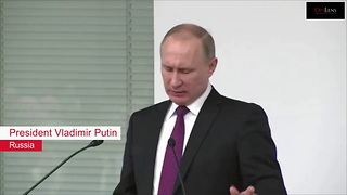 "President Obama Slams Russia, Tells Putin ""Cut it Out"" - Video"