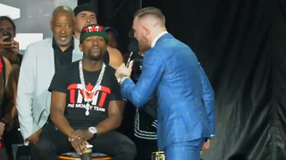 "Conor McGregor ROASTS Floyd Mayweather: ""You Can't Even Read!"" - Video"