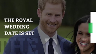 Prince Harry & Meghan Markle's Wedding Date Finally Announced by Kensington Palace - Video