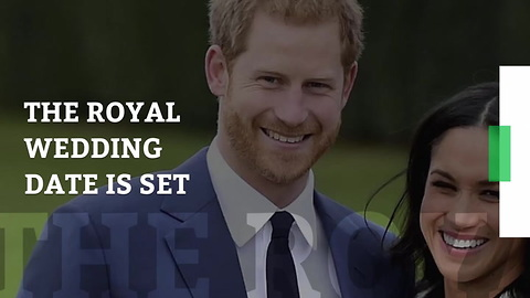 Prince Harry & Meghan Markle's Wedding Date Finally Announced by Kensington Palace