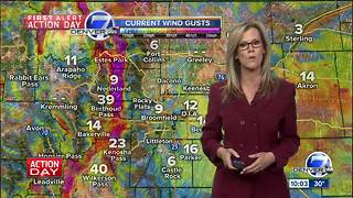 First Alert Action Day: High wind warnings throughout Colorado mountains through Friday morning - Video