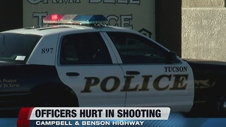 Two officers injured in southside shooting; suspect is confirmed dead - Video