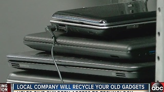 Local company will recycle your old gadgets - Video