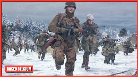 Belgium remembers the American and British Sacriface at The Battle of the Bulge