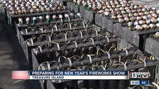 Behind the Scenes: A look at preparations for Fireworks by Grucci on New Year's Eve - Video