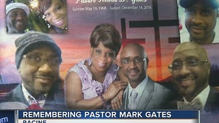 Racine pastor Mark Gates' body lies in state Tuesday - Video
