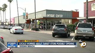 Locals worried about Target store possible opening - Video