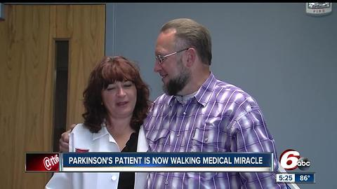 Parkinson's patient is now walking medical miracle